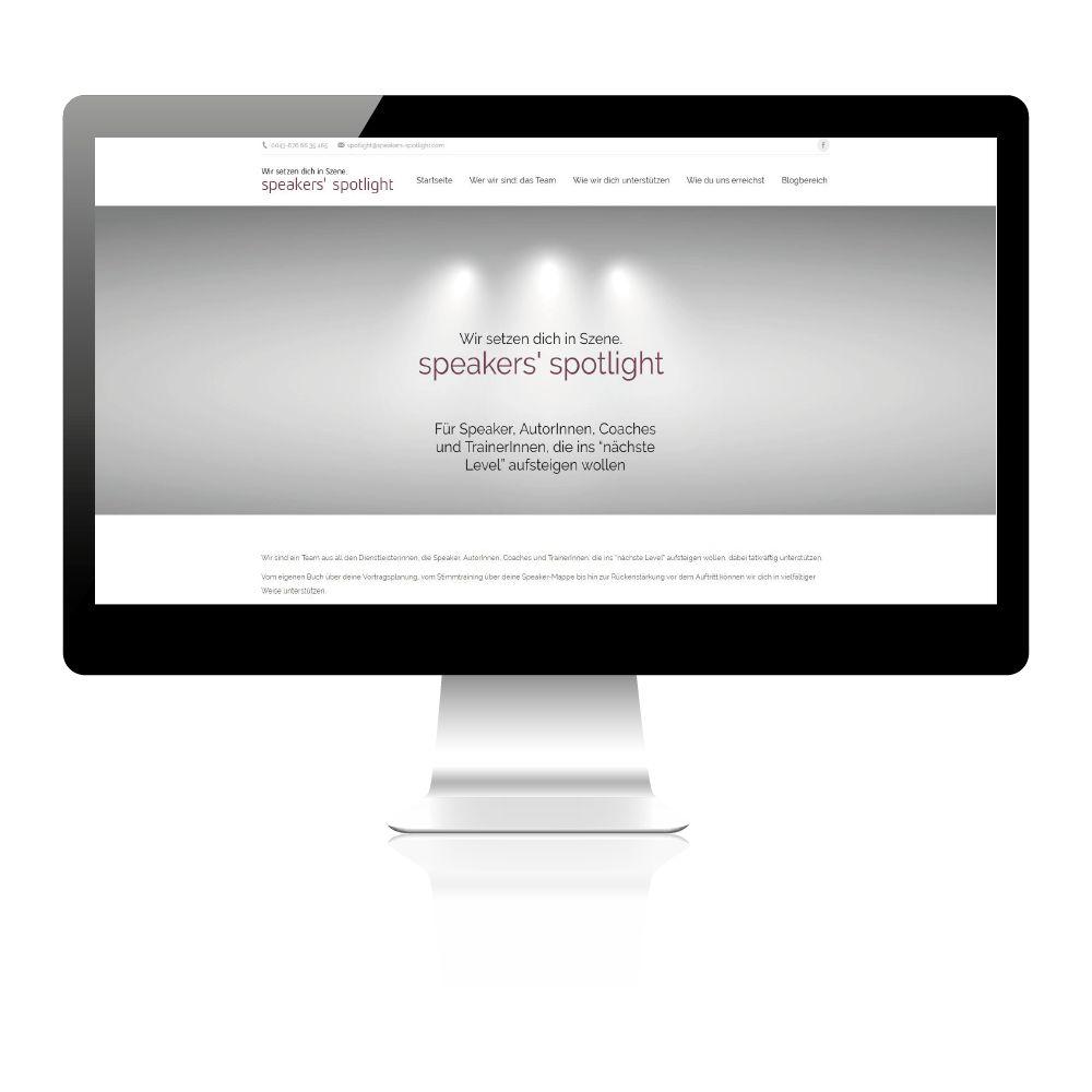 Website erstellen lassen für Trainer, Texter, PR Leute.