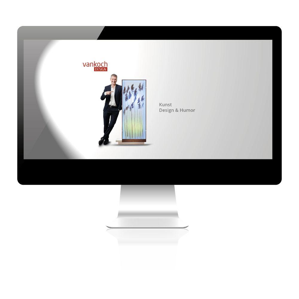 Homepage Erstellung für Lampenhersteller. Individuelles Design, Konzept- und Beratung.