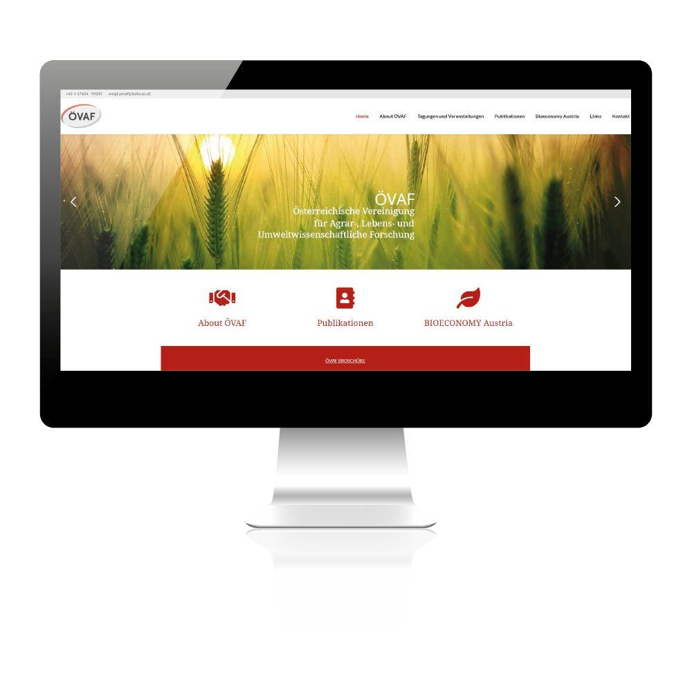 Erstellung Website, Homepage für Verein in Wien. Nachhaltig, individuell und super.